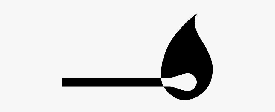 Lit Match Icon , Transparent Cartoon, Free Cliparts.