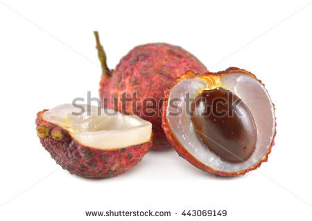 Litchi Chinensis Stock Photos, Royalty.