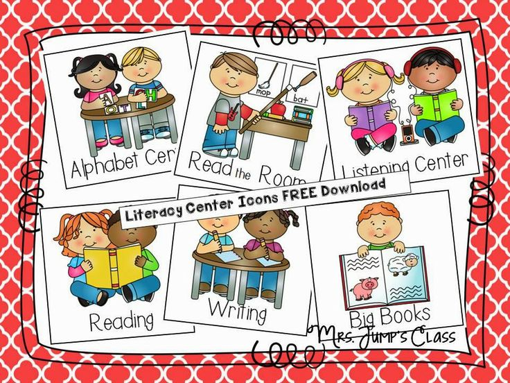 Centers clipart literacy center, Centers literacy center.