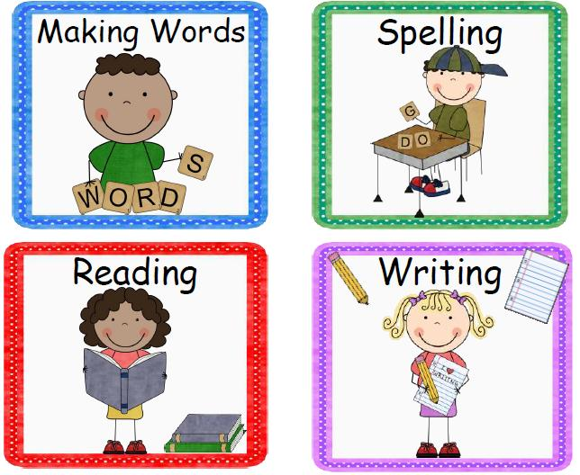 Cliparts Literacy Centers Free Download Clip Art.