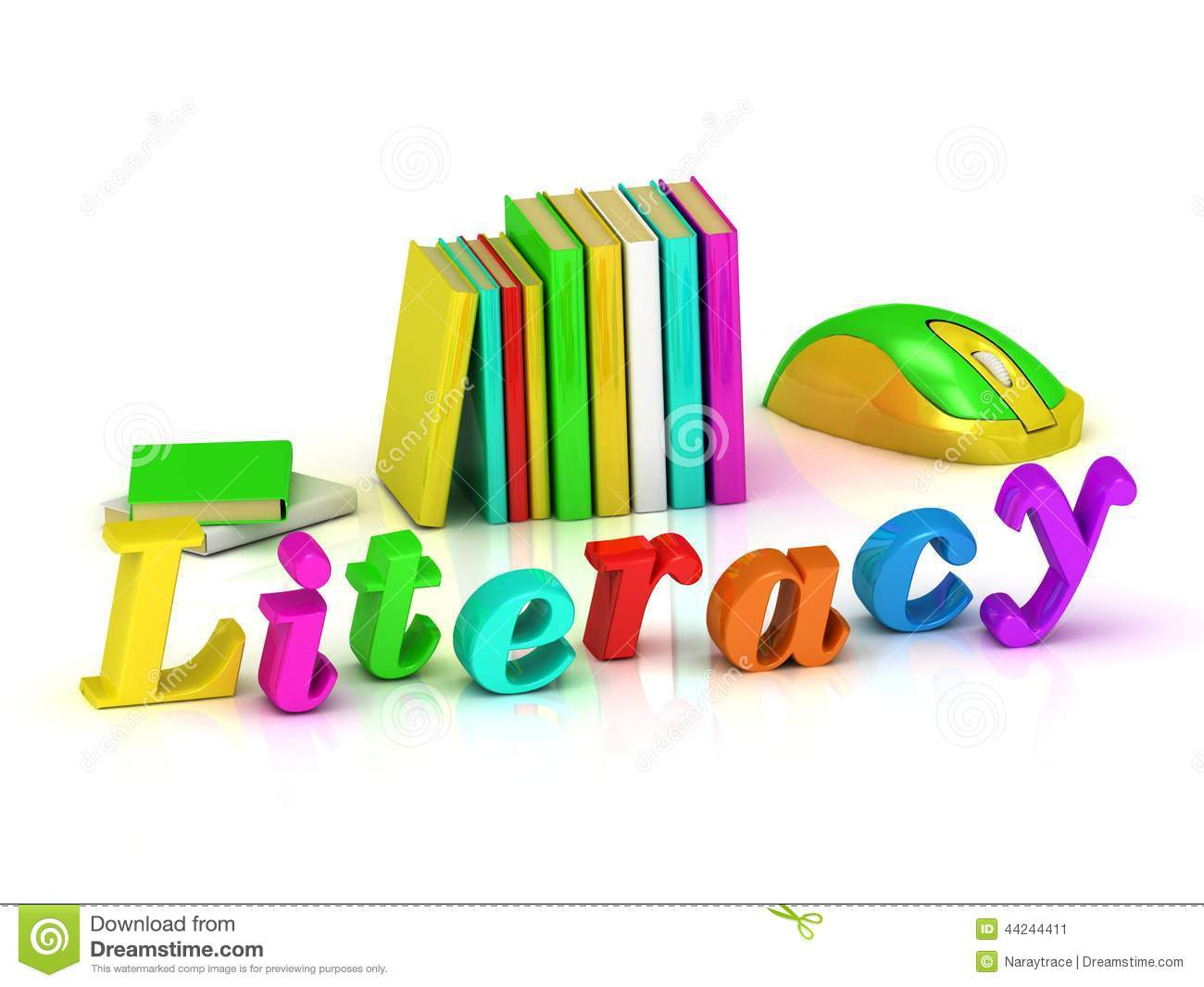 Literacy Clipart on Preschool Library