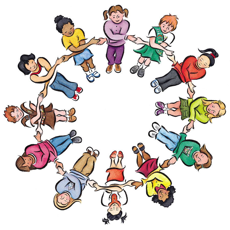 Literacy Circle Clipart.