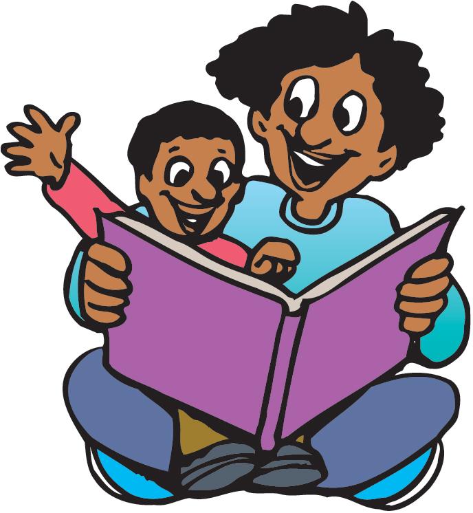 Family Literacy Night Clipart.