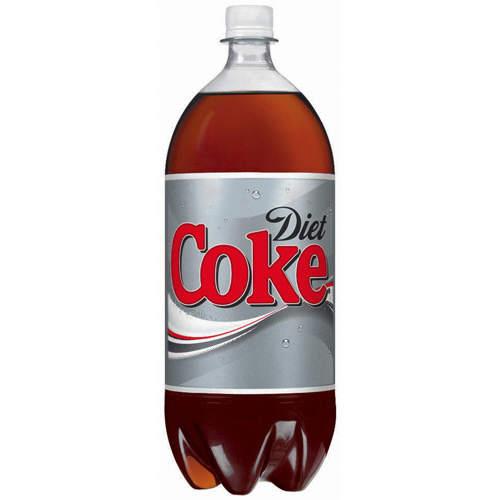 Coca cola litter bottle in ass