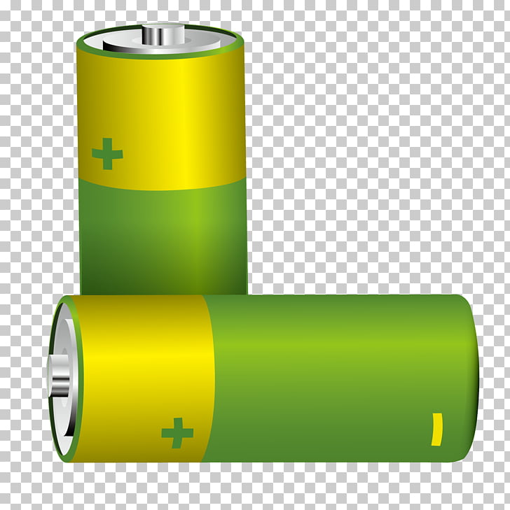 Battery charger Lithium battery Computer file, Green battery.