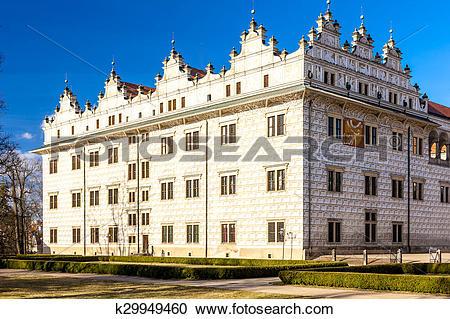 Stock Photography of Litomysl Palace, Czech Republic k29949460.