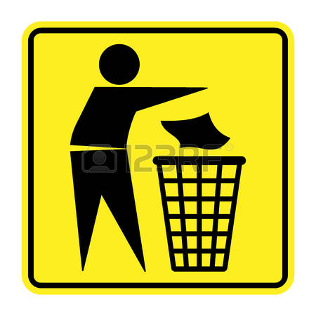 291 Do Not Litter Stock Illustrations, Cliparts And Royalty Free.