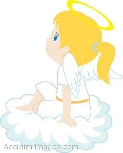 Little Angel Clipart.