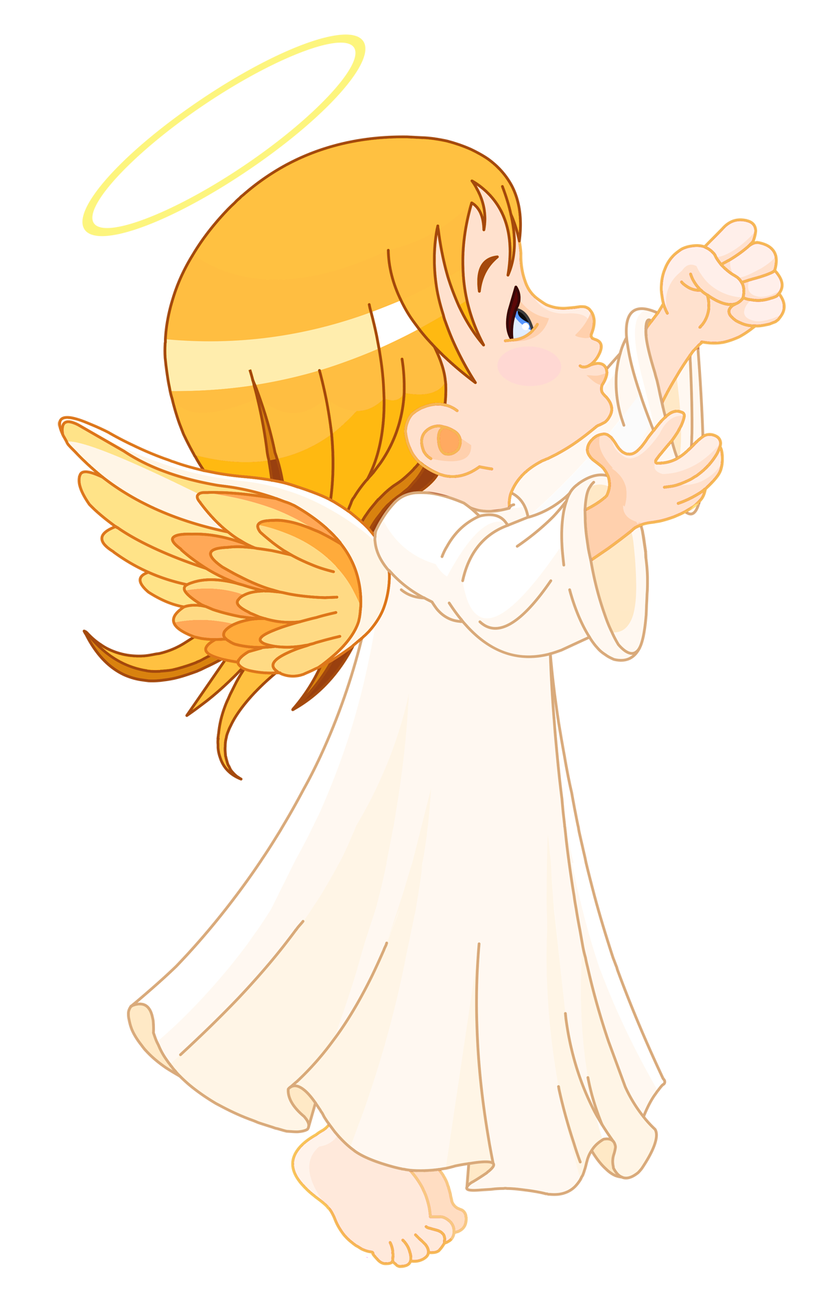 angel clipart cute clipground stamps digi