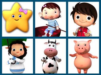 Little Baby Bum characters.