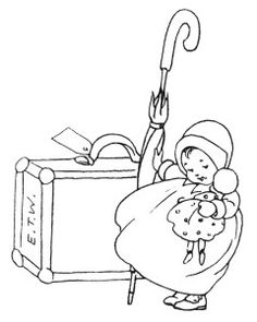 baby clip art, black and white clipart, vintage children image.