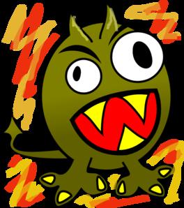 Little Beast Clip Art at Clker.com.