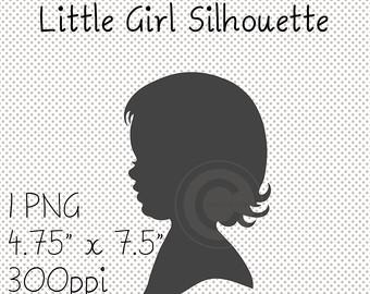 Little Girl Silhouette African American Girl Silhouette.