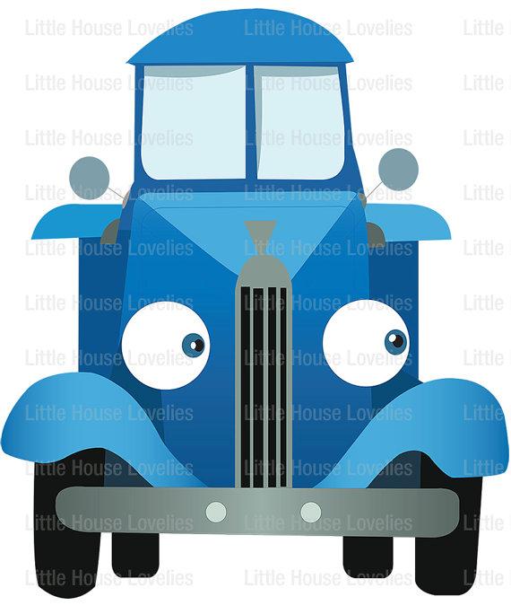Blue Truck Clipart.