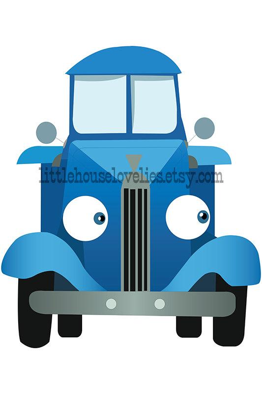 Little Blue Truck Birthday Poster Printable, Little Blue.