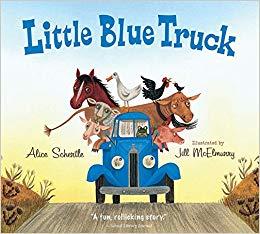 Little Blue Truck board book: Alice Schertle, Jill McElmurry.