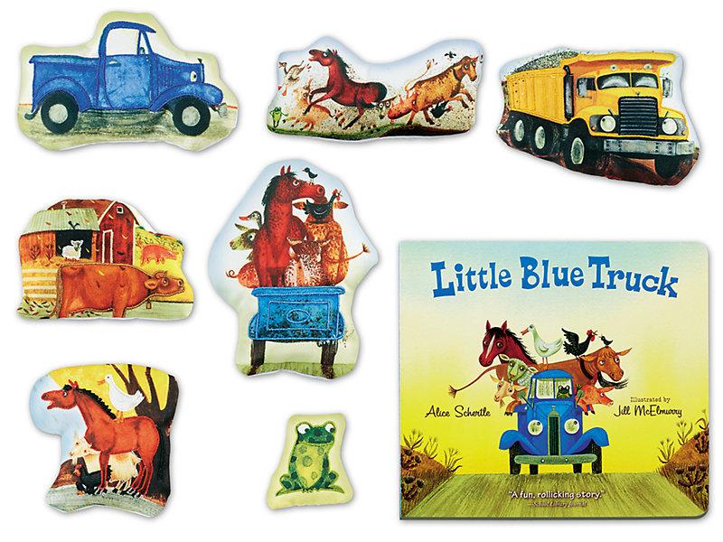 Little Blue Truck Storytelling Kit.