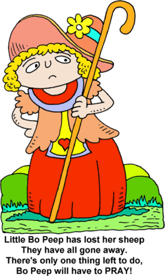 Image download: Little Bo Peep.