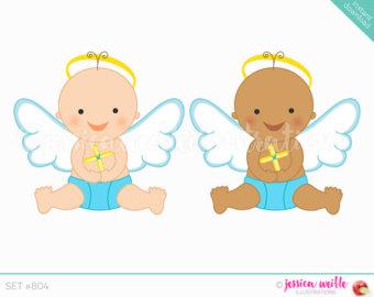 Little Boy Angel Clipart.