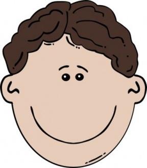 Little Boy Head Clipart.