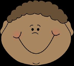 Baby Head Clip Art.