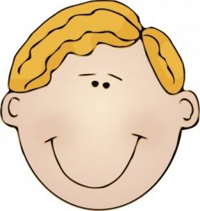 Baby Boy Head Clipart.