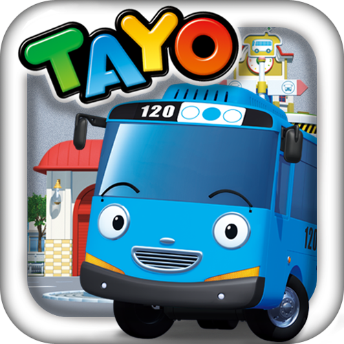 Tayo the little bus.
