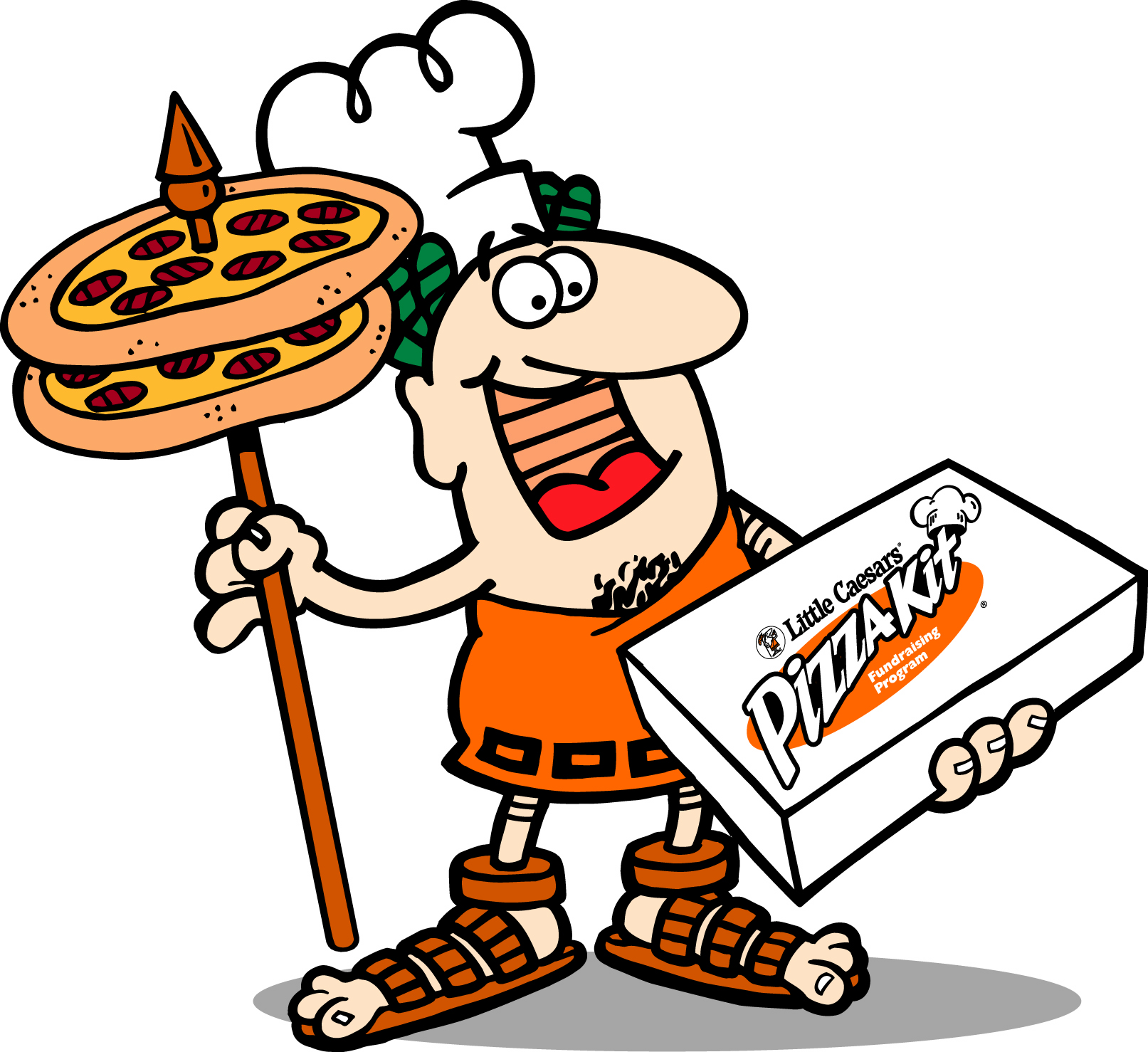 Little Caesars Pizza Clipart.