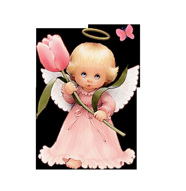 Cute Angel Clip Art.