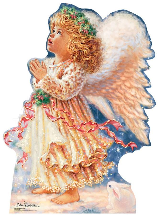 little christmas angels clipart #6