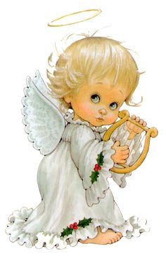 little christmas angels clipart #7
