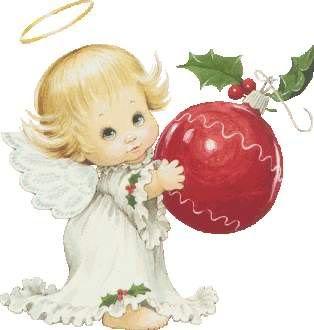 little christmas angels clipart #4
