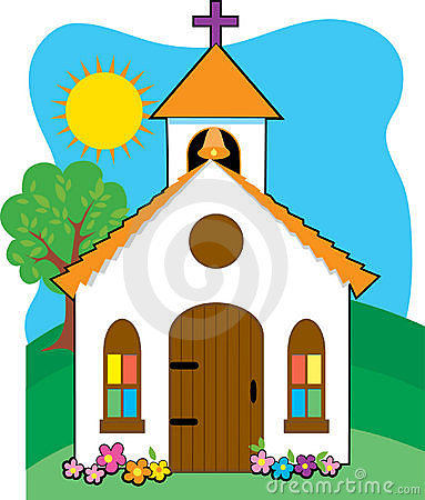 Church Stock Illustrations.