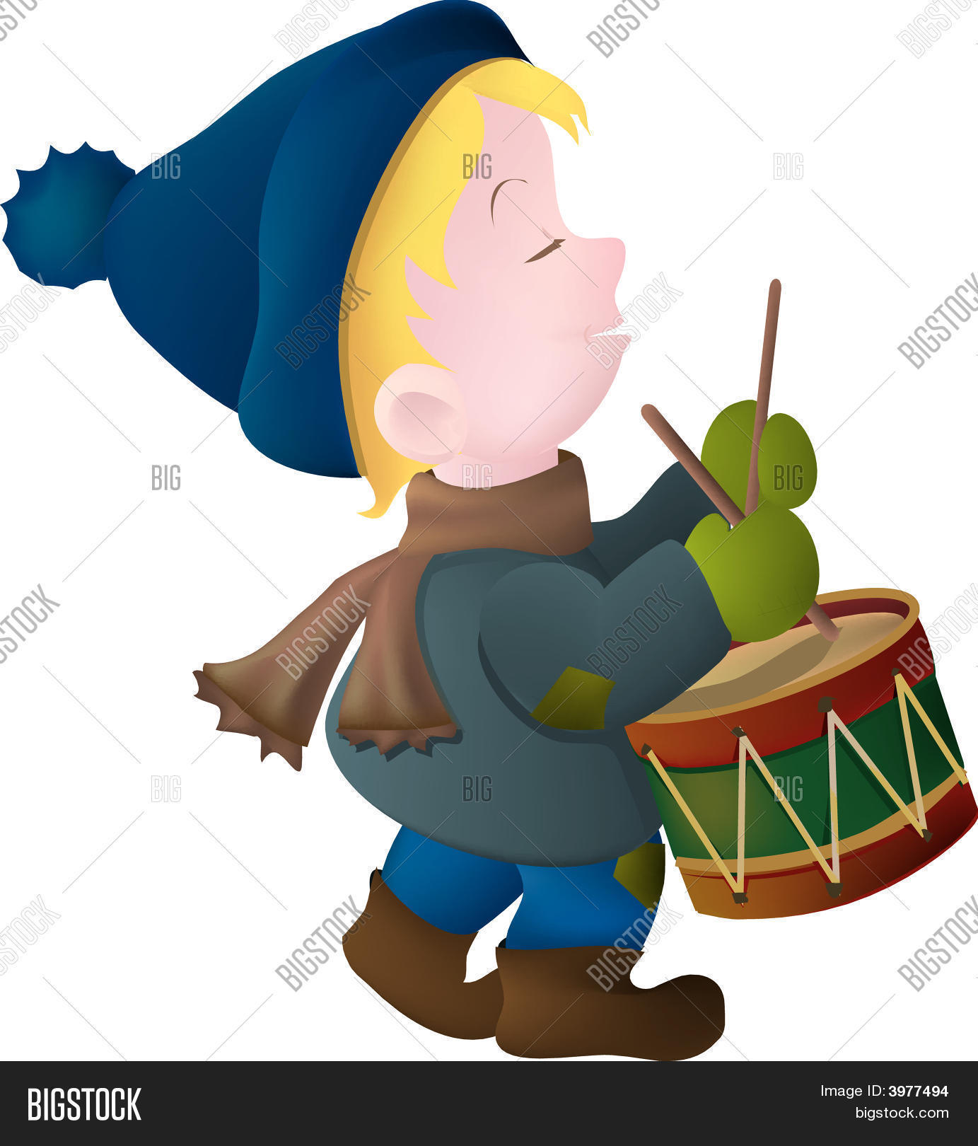 Little Drummer Boy Vector & Photo (Free Trial).