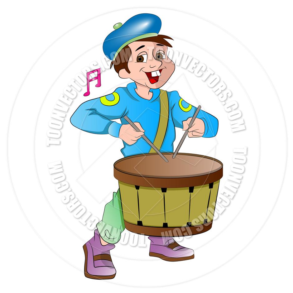 Cartoon Little Drummer Boy by Morphart.