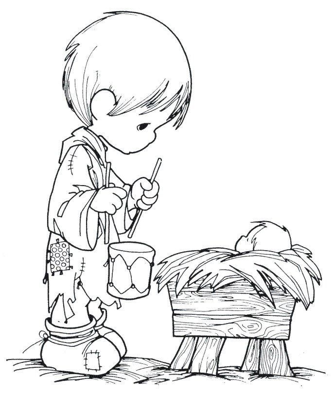 Clipart Little Drummer Boy.