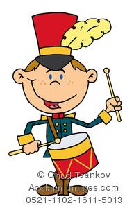 Little Drummer Boy Clipart.