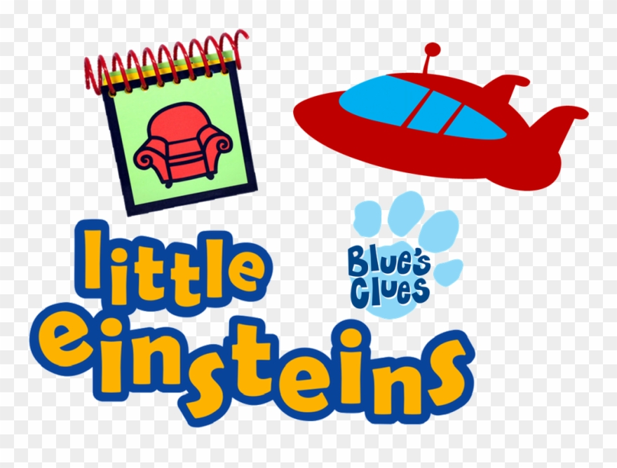 Little Einsteins Blues Clues Logo.