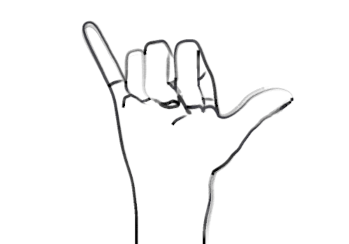 Pinky Finger Clipart.