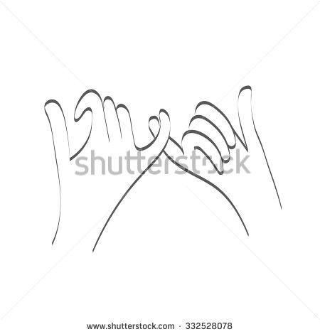 Pinky Finger Clip Art.