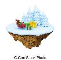 The little fir tree cold in the winter Stock Illustrations. 17 The.
