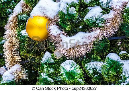 Clip Art of The little fir.