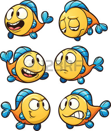 3,015 Little Fish Stock Vector Illustration And Royalty Free.