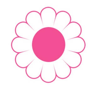 Little Pink Flower Clip Art.