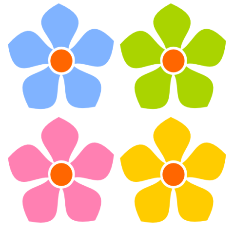 Little Flower Clipart.