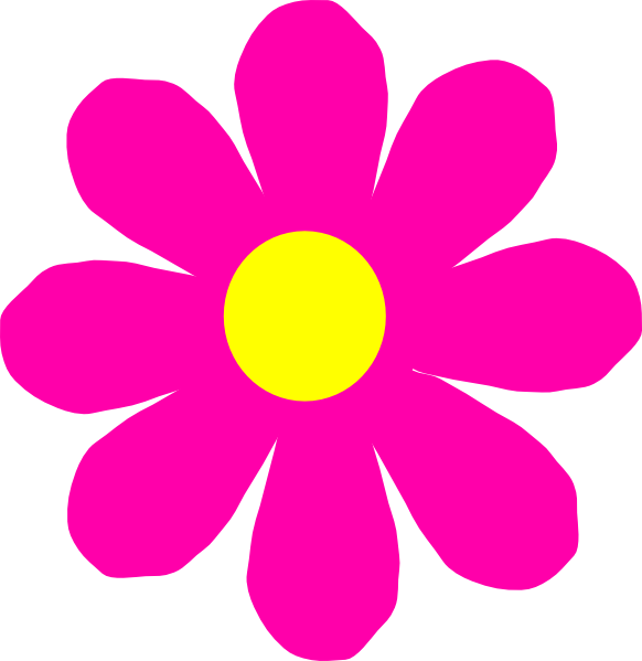 Pretty Flower Clipart.