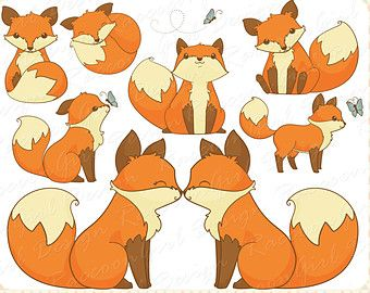 Fox Drawings Clip Art.