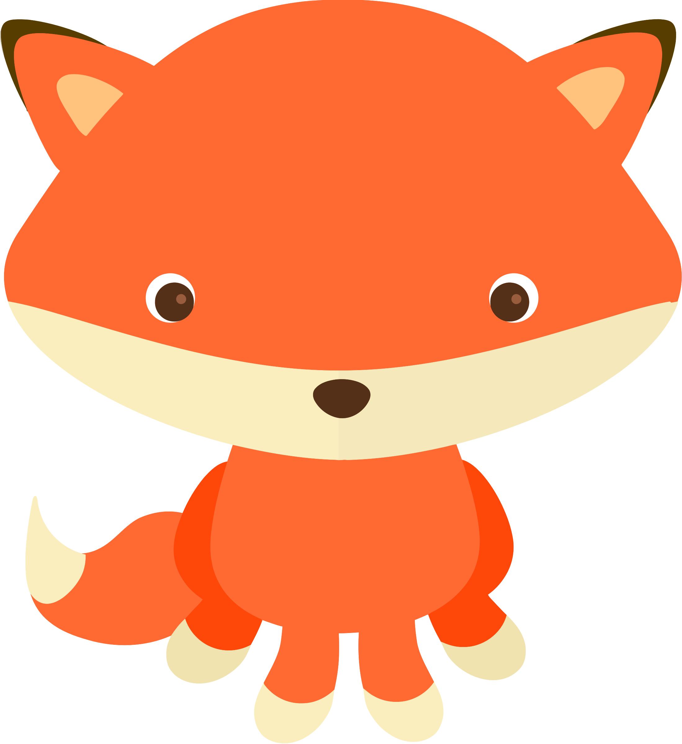 Little Red Fox Clipart.