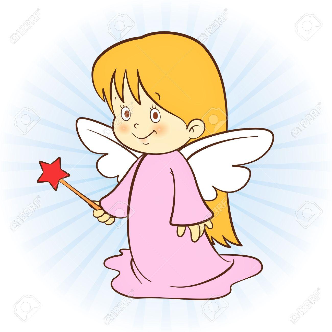 Baby Girl Angel Clipart.