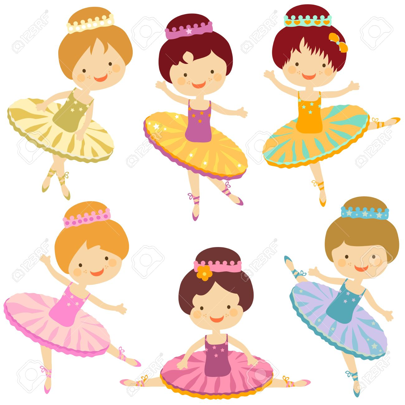4,384 Ballerina Girl Stock Illustrations, Cliparts And Royalty.